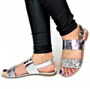 Incaltaminte Diva Silver - Sandale0