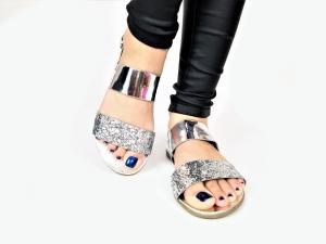 Incaltaminte Diva Silver - Sandale1