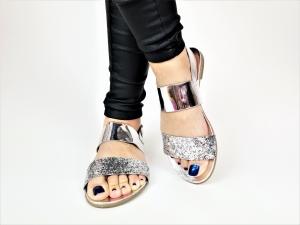 Incaltaminte Diva Silver - Sandale3