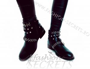 Incaltaminte Studded Leather - Ghete2