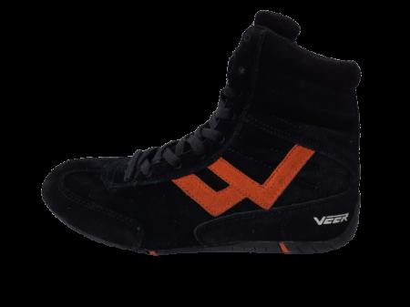 Incaltaminte Veer Black Orange5