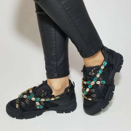 Incaltaminte Irina Black - Pantofi Sport6