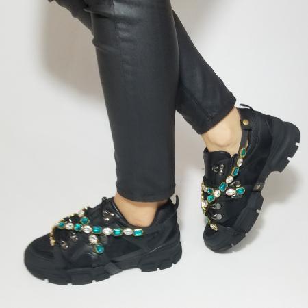 Incaltaminte Irina Black - Pantofi Sport7