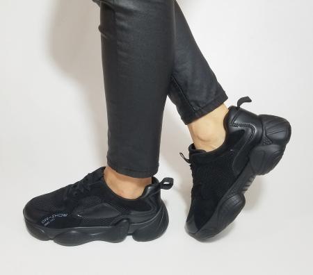 Incaltaminte Kalipso Black - Pantofi Sport1