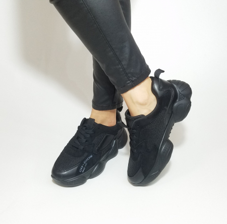 Incaltaminte Kalipso Black - Pantofi Sport2
