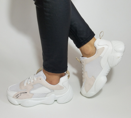 Incaltaminte Kalipso White - Pantofi Sport1