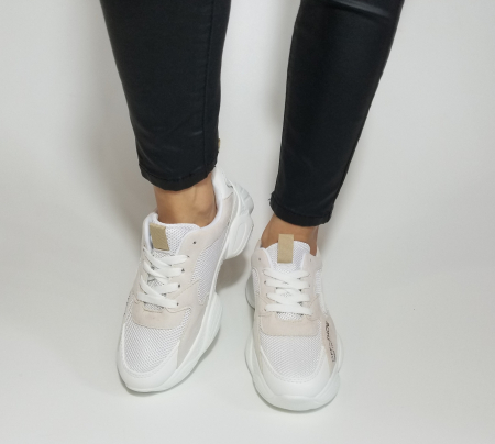 Incaltaminte Kalipso White - Pantofi Sport3
