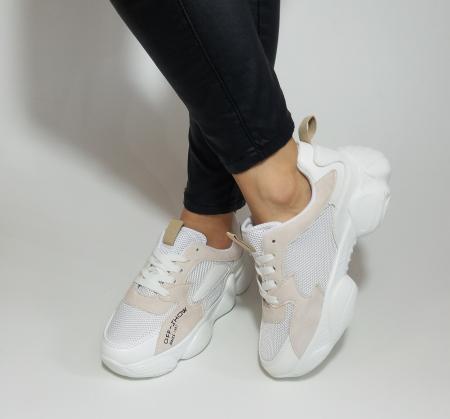 Incaltaminte Kalipso White - Pantofi Sport2
