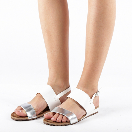 Incaltaminte Kamrin White - Sandale [2]