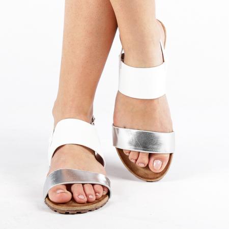 Incaltaminte Kamrin White - Sandale [1]