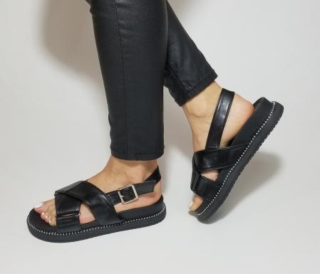 Incaltaminte Lora Black - Sandale [2]