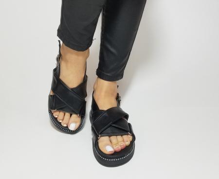 Incaltaminte Lora Black - Sandale [3]