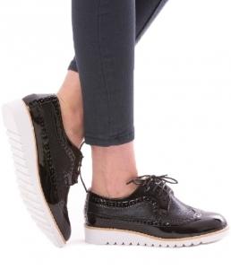 Incaltaminte Oxford Black - Pantofi0