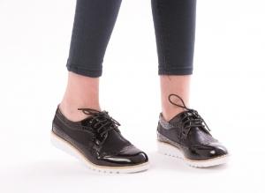 Incaltaminte Oxford Black - Pantofi1