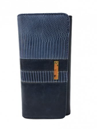 Portofel Dama Piele Eco YY-8744-BLUE1