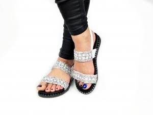 Incaltaminte Perla White - Sandale [1]