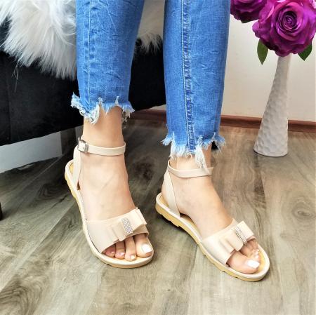 Incaltaminte Selly Crem - Sandale [2]
