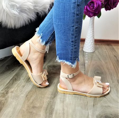 Incaltaminte Selly Crem - Sandale [1]