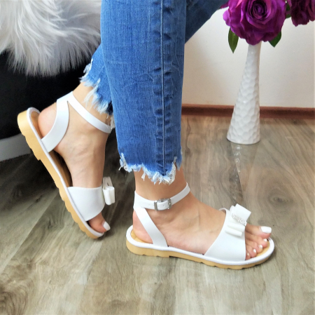 Incaltaminte Selly White - Sandale1