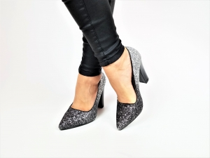 Incaltaminte Silver Glittery - Pantofi [2]