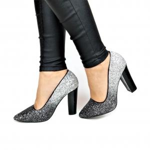 Incaltaminte Silver Glittery - Pantofi [0]