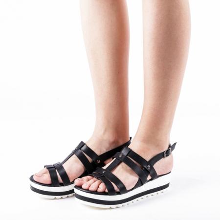 Incaltaminte Xena Black - Sandale1
