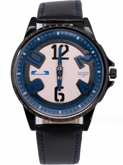 Ceas Barbatesc Matteo Ferari Black/Dark Blue Casual III [0]