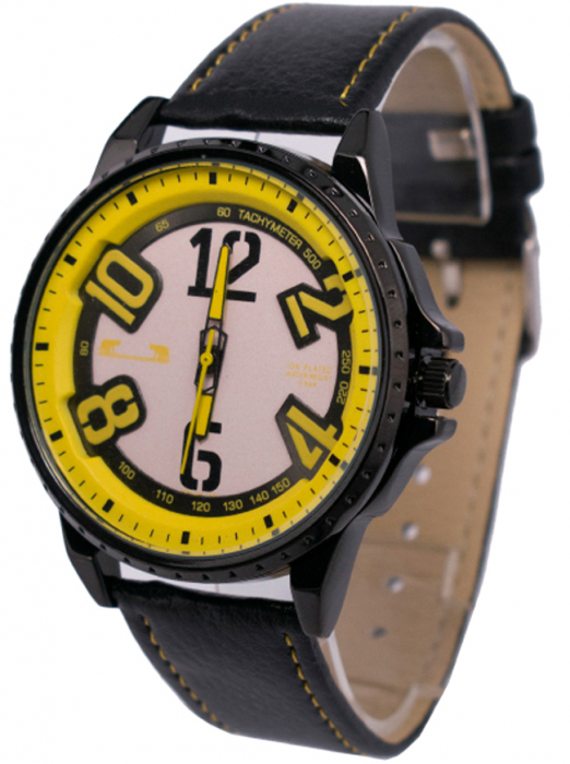 Ceas Barbatesc Matteo Ferari Black/Yellow Casual III [1]