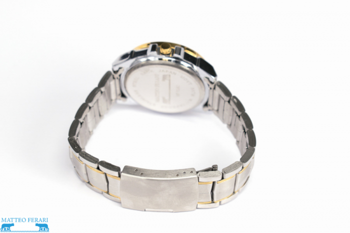 Ceas Barbatesc Matteo Ferari Gold&Silver/Gold Elegant V [2]