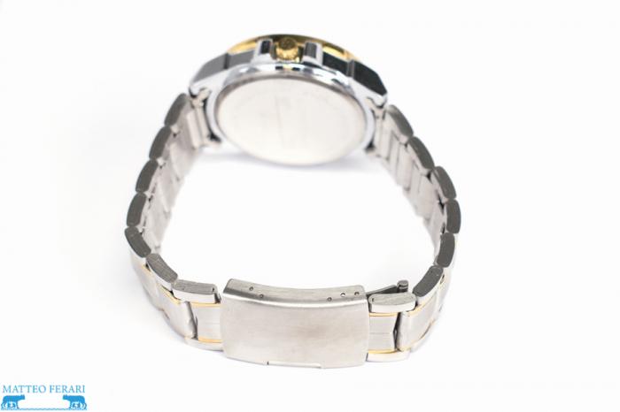 Ceas Barbatesc Matteo Ferari Gold&Silver/White Elegant V [2]