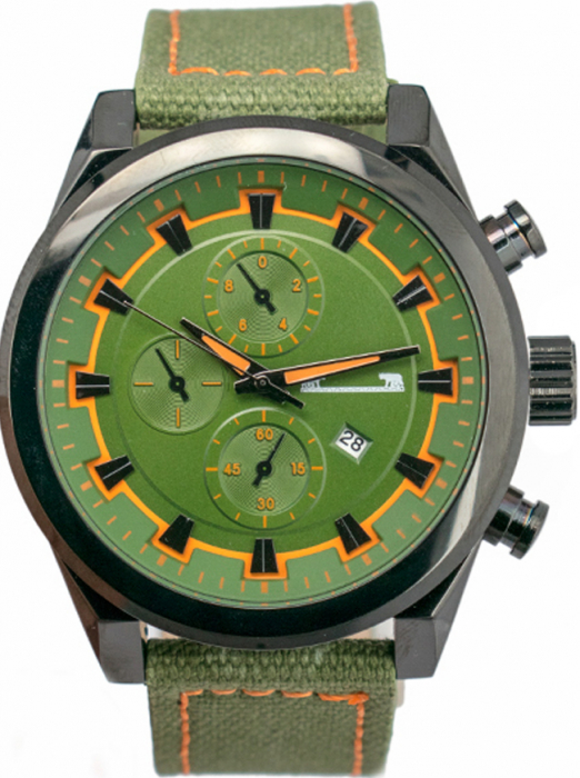 Ceas Barbatesc Matteo Ferari Green Clasic XII [0]