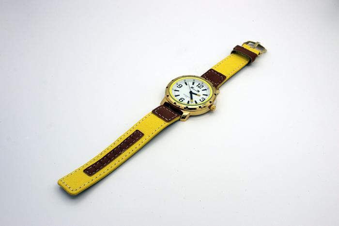 Ceas Barbatesc Matteo Ferari Yellow/Gold Casual VI [3]