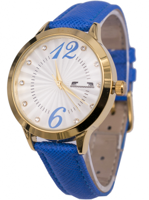 Ceas Dama Matteo Ferari Blue/Gold Casual XV [1]