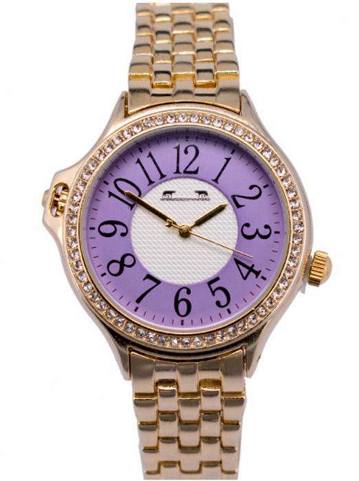 Ceas Dama Matteo Ferari Gold/Purple Clasic XI [0]