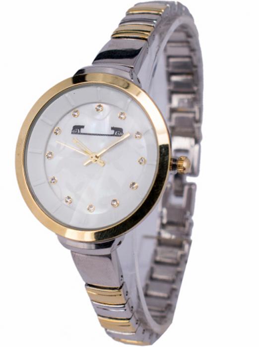 Ceas Dama Matteo Ferari Gold&Silver/White Elegant XI [1]