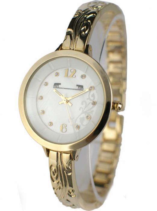Ceas Dama Matteo Ferari Gold/White Elegant XII [1]