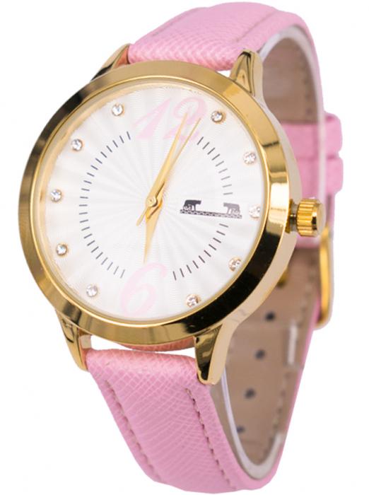 Ceas Dama Matteo Ferari Pink/Gold Casual XV [1]