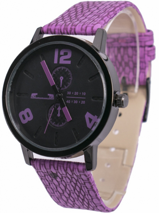 Ceas Dama Matteo Ferari Purple Casual IX [1]