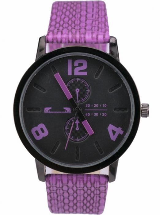 Ceas Dama Matteo Ferari Purple Casual IX [0]