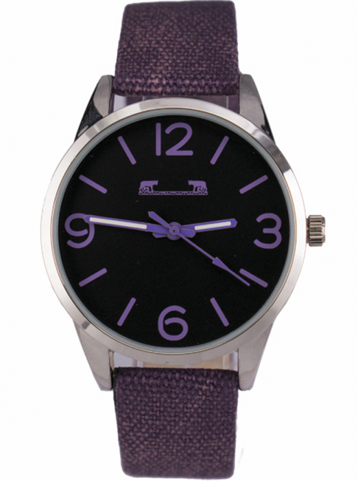 Ceas Dama Matteo Ferari Purple Casual VIII [0]