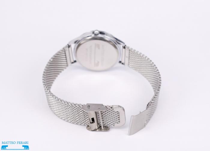 Ceas Dama Matteo Ferari Silver/White Elegant XVIII [2]