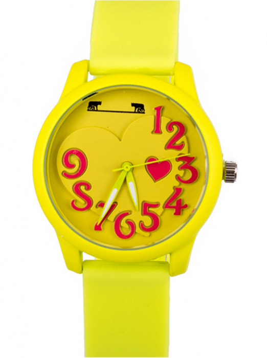 Ceas Dama Matteo Ferari Yellow Casual IV [0]