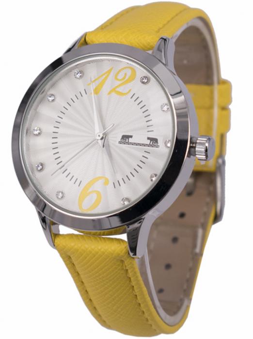 Ceas Dama Matteo Ferari Yellow/Silver Casual XV [1]