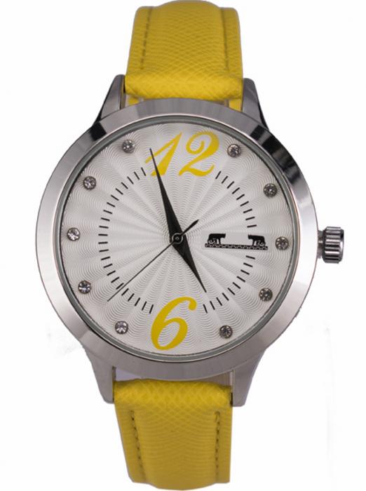 Ceas Dama Matteo Ferari Yellow/Silver Casual XV [0]