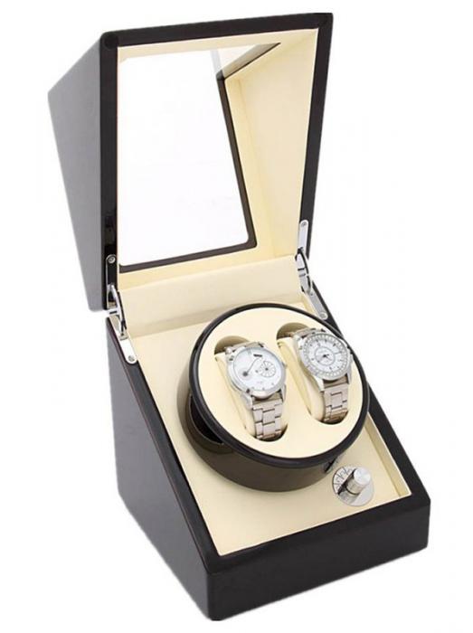 Watch Winder Dispozitiv incarcare ceasuri automatice 2 + 0 WW20BWFF [0]