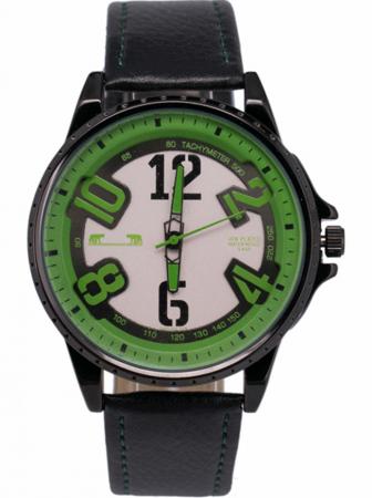 Ceas Barbatesc Matteo Ferari Black/Green Casual III [0]