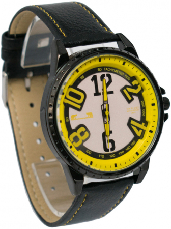 Ceas Barbatesc Matteo Ferari Black/Yellow Casual III [2]