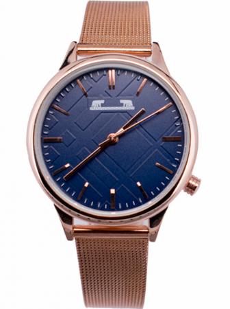 Ceas Dama Matteo Ferari Copper/Blue Clasic II [0]