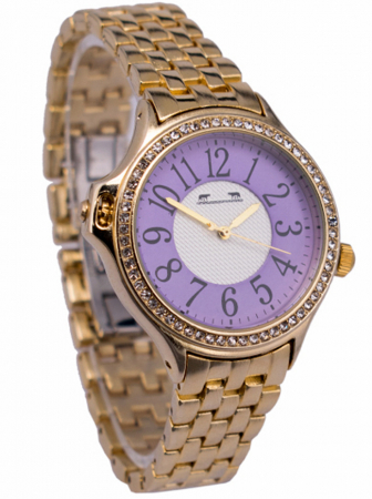 Ceas Dama Matteo Ferari Gold/Purple Clasic XI [1]