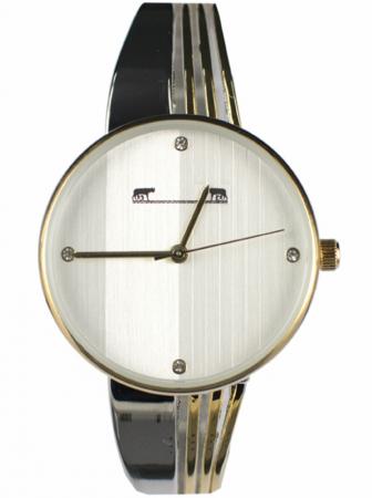 Ceas Dama Matteo Ferari Gold&Silver/White Elegant X [0]